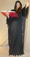 Jodi Casting Spell Black Cloak