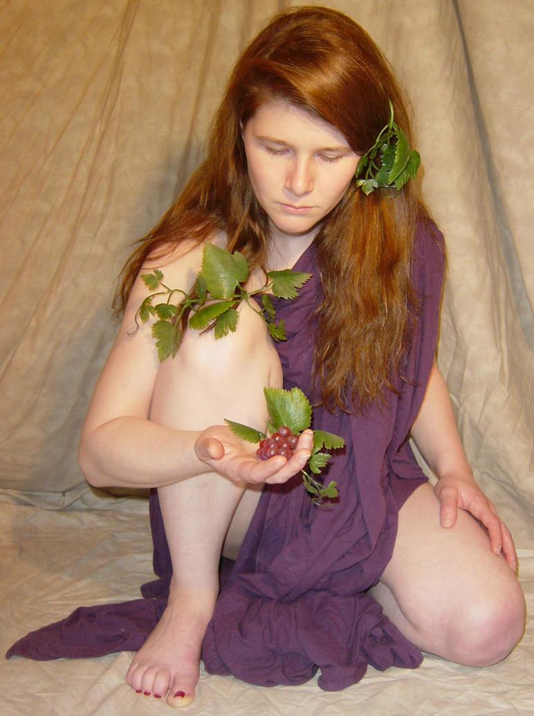 Jodi Purple Grapes Dionysia 3 by FantasyStock