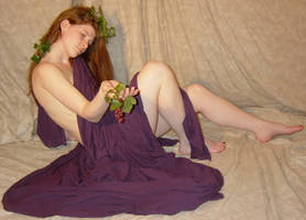 Jodi Purple Grapes Dionysia 6 by FantasyStock