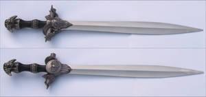 Conjal's Fantasy Ram Sword by FantasyStock