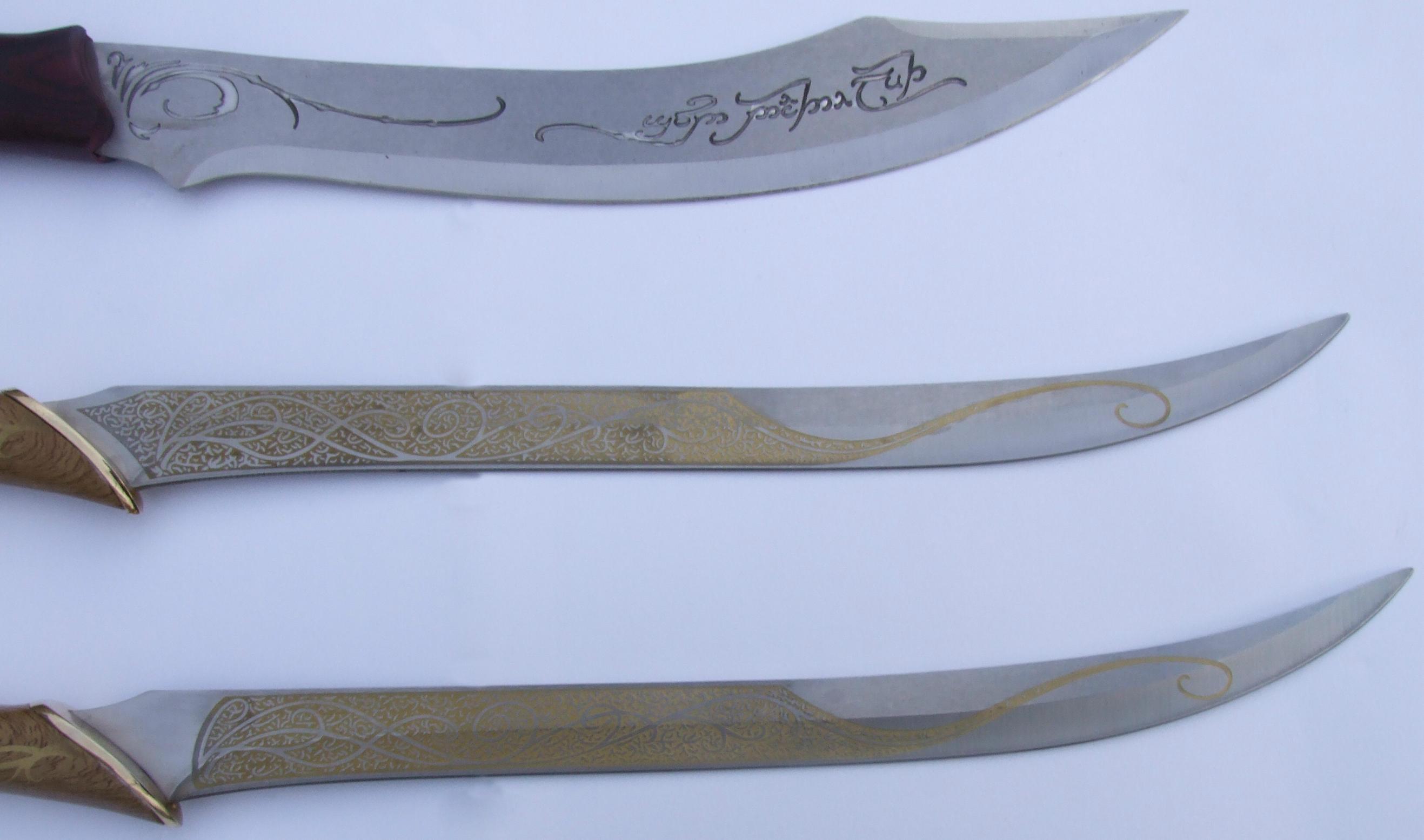 Conjal's LotR Elven Blade Set by FantasyStock