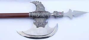 Conjal Polearm Axe Spear Tip