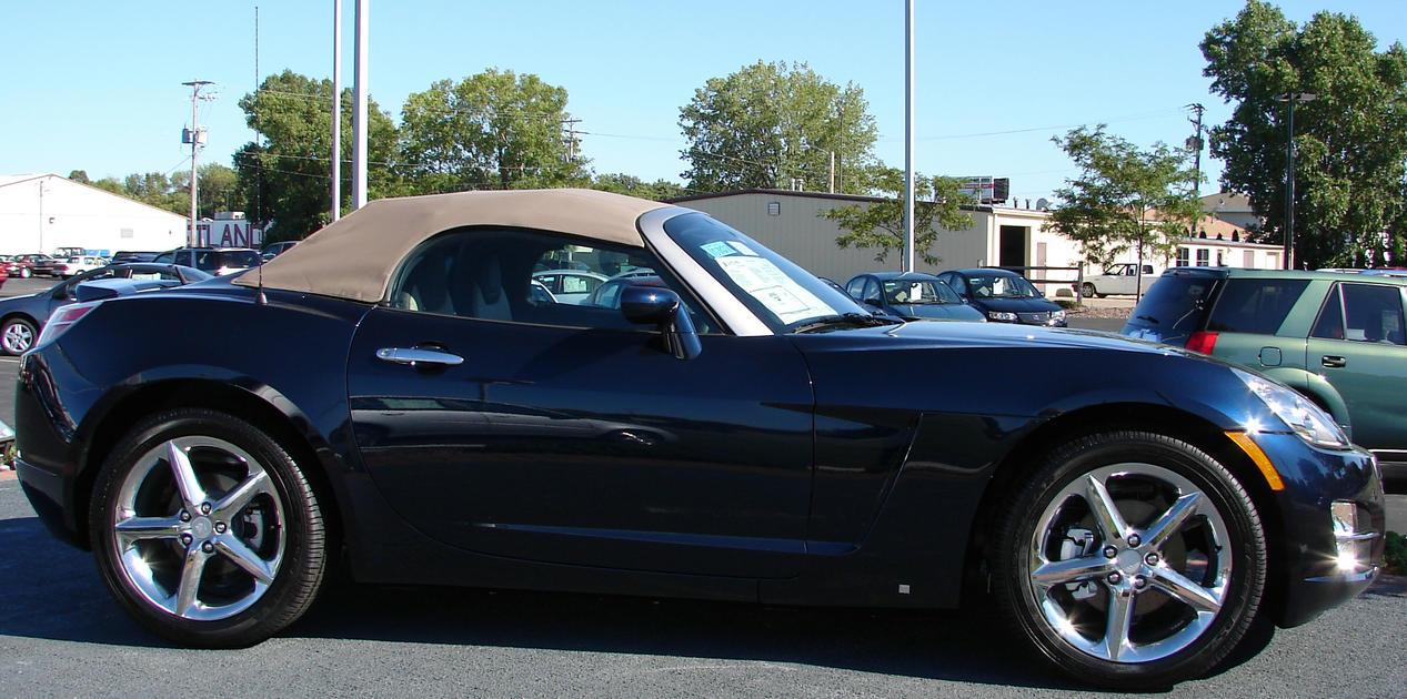 saturn sky metallic blue car 3 by fantasystock on deviantart