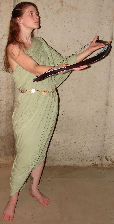 Jodi Artemis Goddess + Bow 2 by FantasyStock