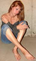 Danielle Jeans + Cigarette 4
