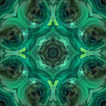 Abstract Green Mustang Texture