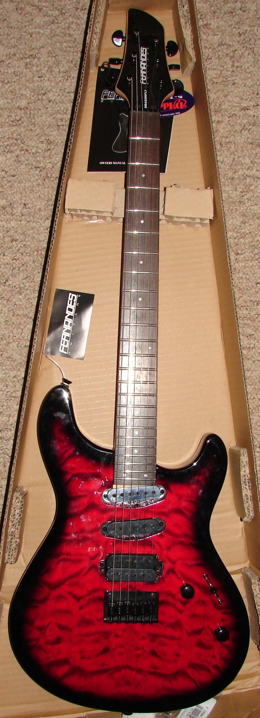Fernando Dragonfly X Guitar by FantasyStock