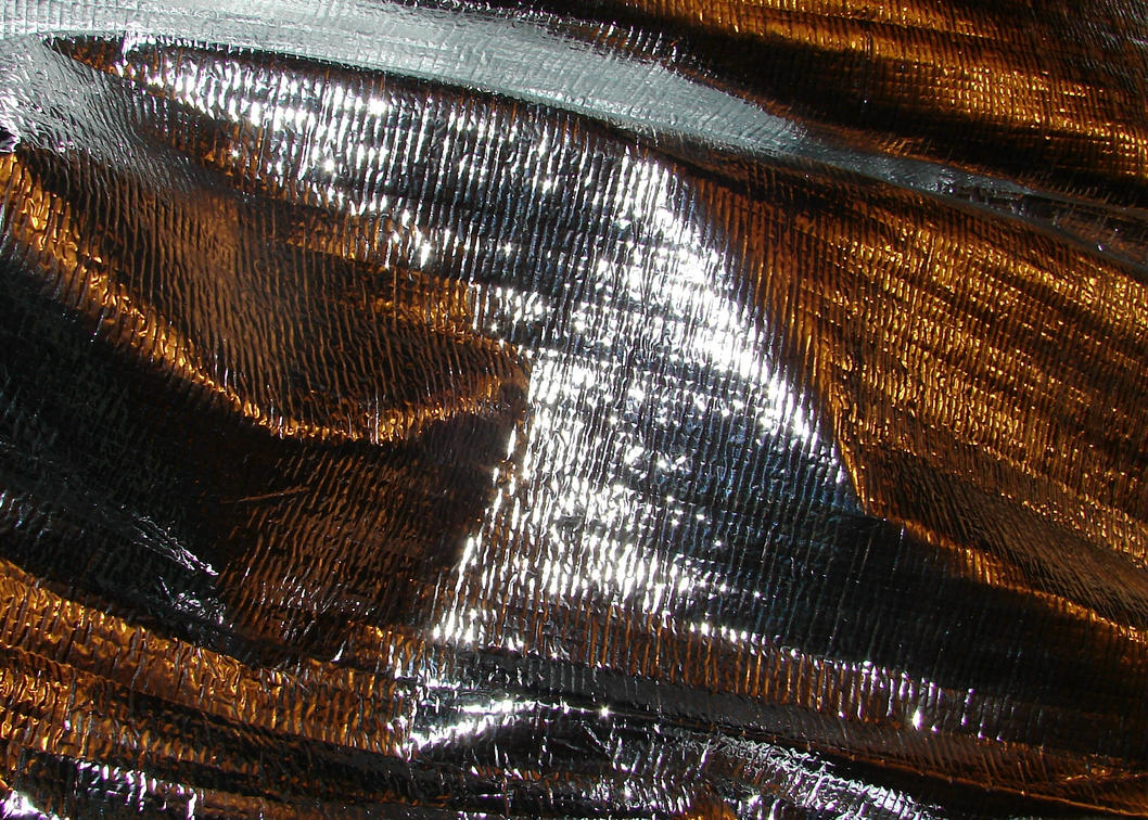 Metallic Silver Foil Texture by FantasyStock