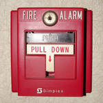 Red Emregency Fire Alarm