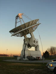 Huge USNA Radio Satellite by FantasyStock