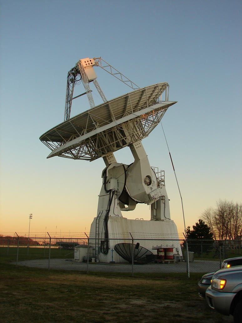 Huge USNA Radio Satellite by FantasyStock