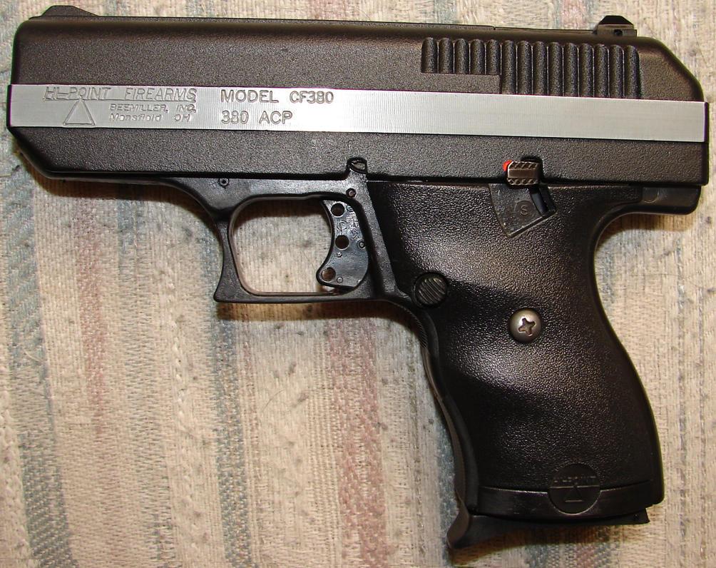 380 ACP Semi-Auto Pistol - .380 ACP Semi-Automatic Handgun