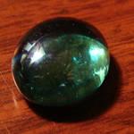 Tumbled Glass Emerald Gemstone