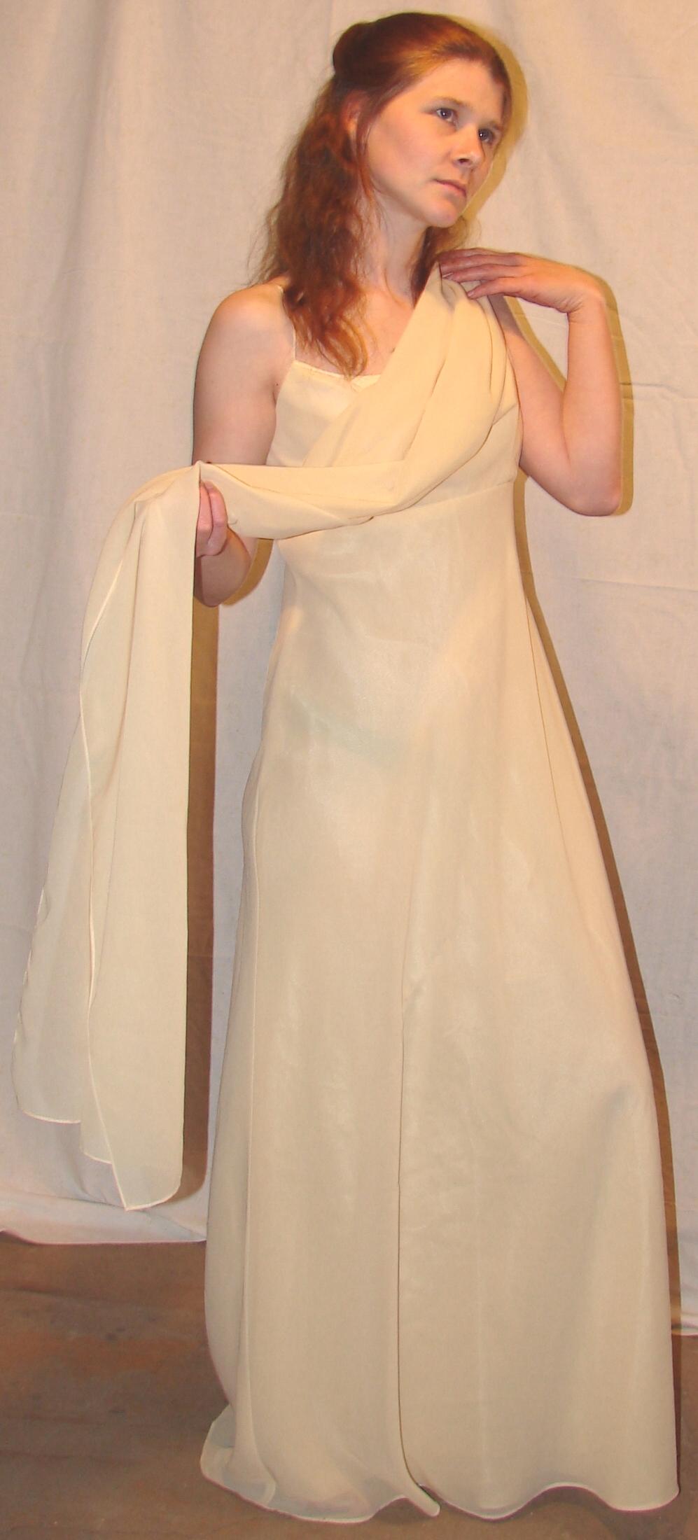 Jodi Yellow Gown Enchantress 7 by FantasyStock