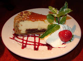 Chocolate Turtle Cheesecake 2 by FantasyStock