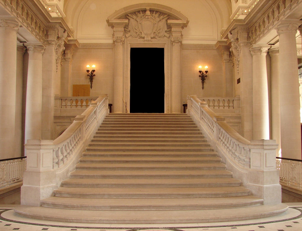 USNA Memorial Hall Interior by FantasyStock