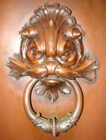 USNA Bronze Fish Door Knocker by FantasyStock