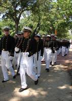 USNA Midshipmen Marching 1 by FantasyStock