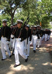 USNA Midshipmen Marching 1