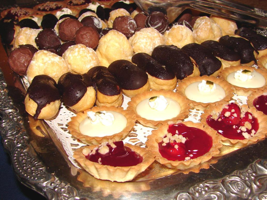 Dessert Platter Full of Sweets by FantasyStock