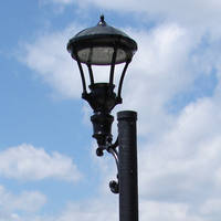 Lamp Post in the Sky by FantasyStock