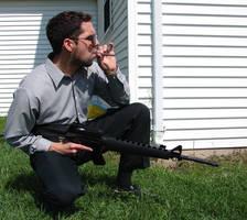Ryan Armed Hitman 11 by FantasyStock