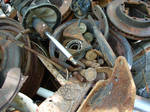Junk Pile of Rusty Parts