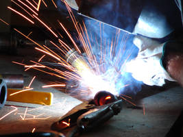 Dave Welding Metal 10 by FantasyStock