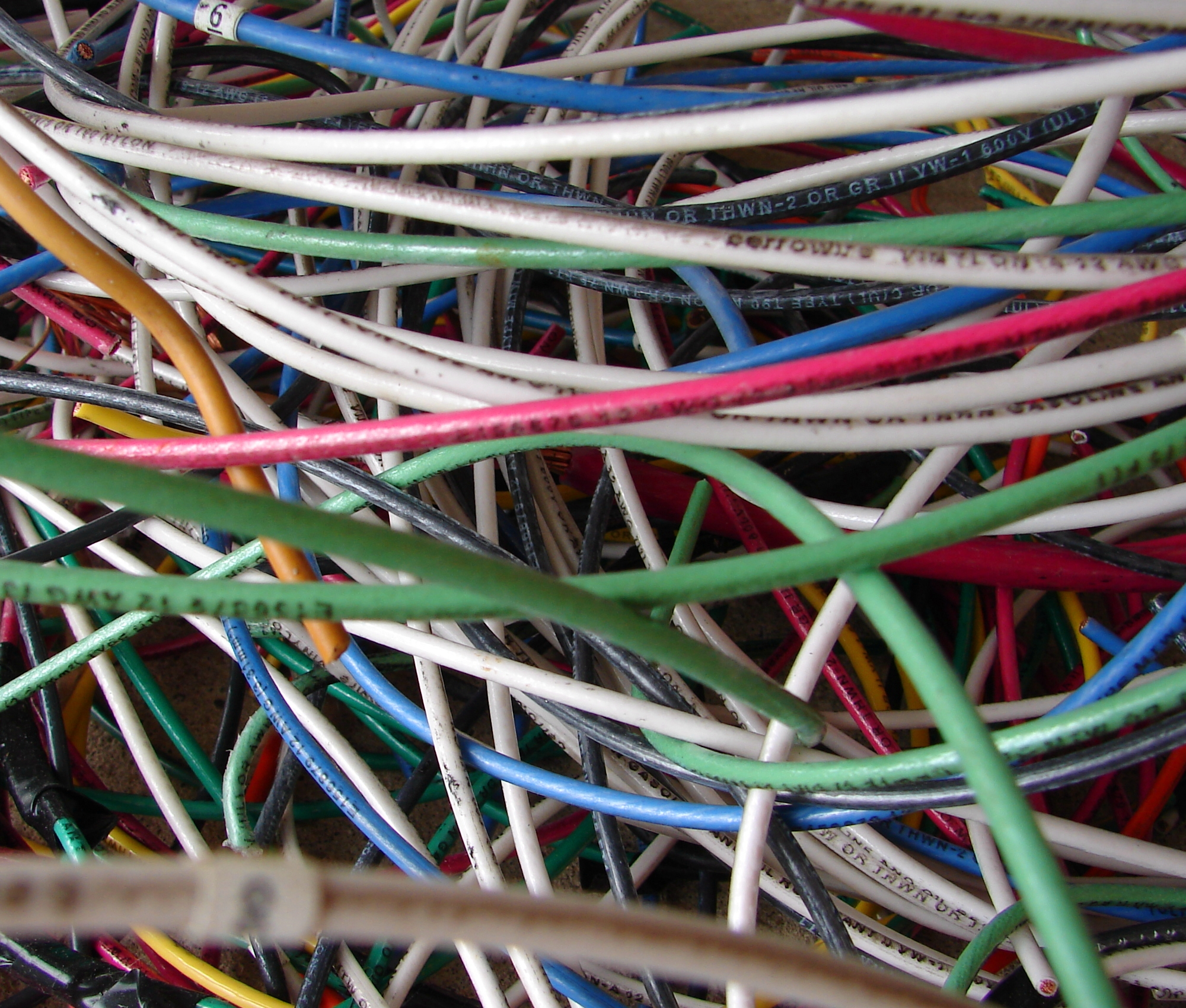 Colorful Electrical Wires 6 by FantasyStock on DeviantArt