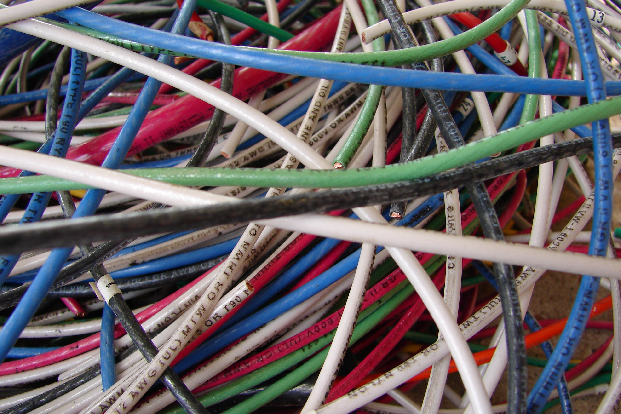 Colorful Electrical Wires 5 by FantasyStock on DeviantArt