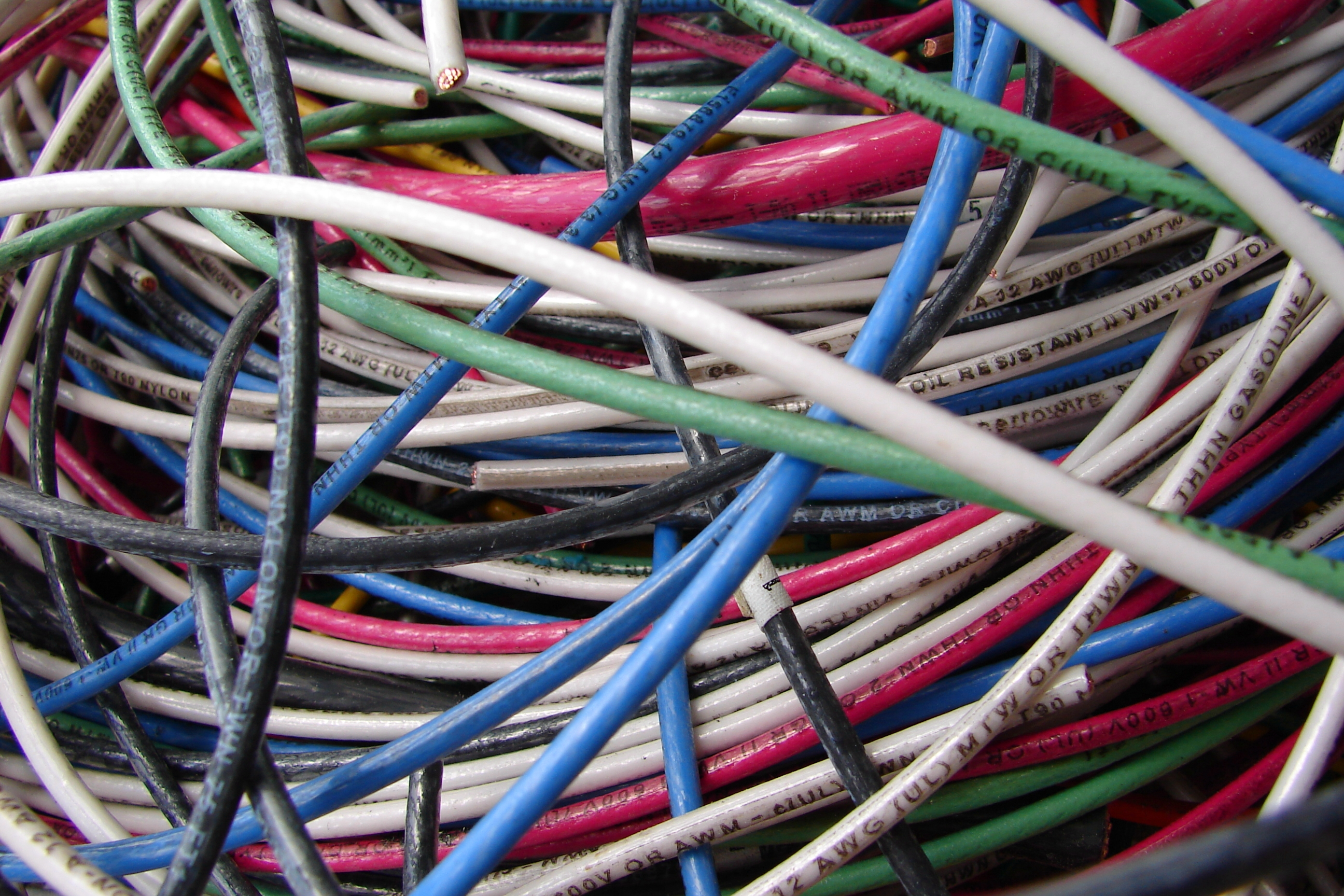 Colorful Electrical Wires 2 by FantasyStock on DeviantArt