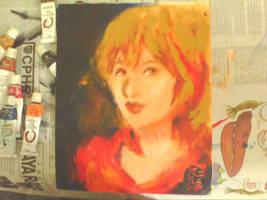 Random oil painting