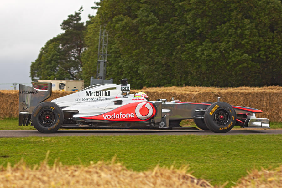 Goodwood 2012: McLaren MP4-26 Formula 1 Racer by randomlurker