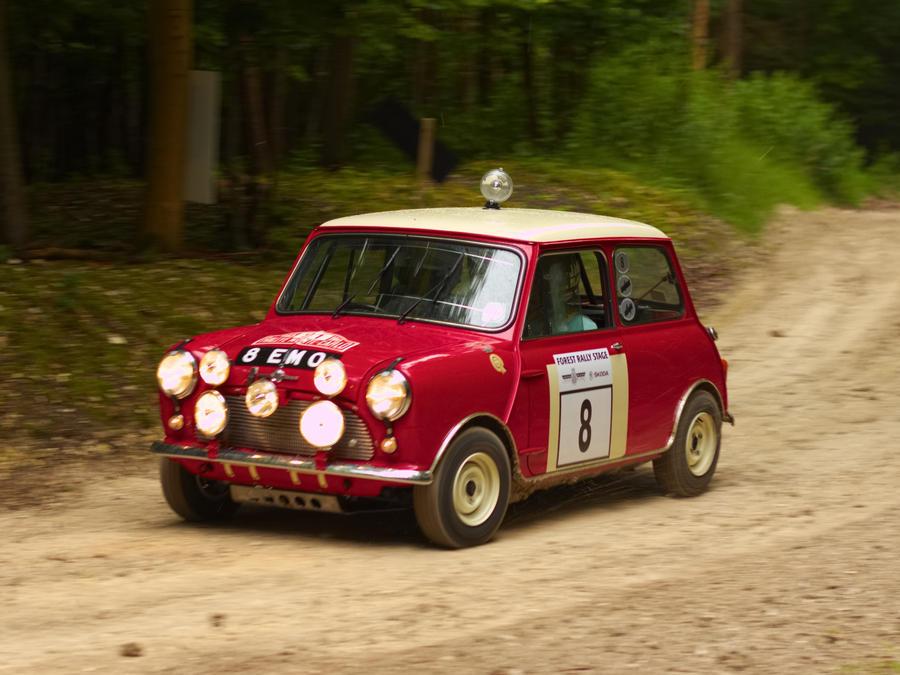 Goodwood 2012: Mini Cooper S Rally Car by randomlurker on DeviantArt