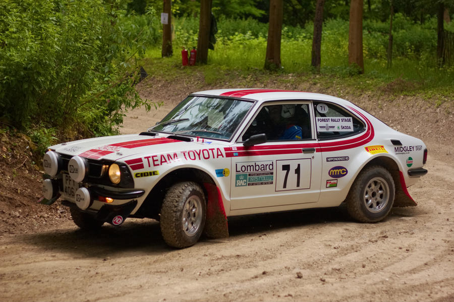 Goodwood 2012: Toyota Corolla Rally Car by randomlurker on DeviantArt