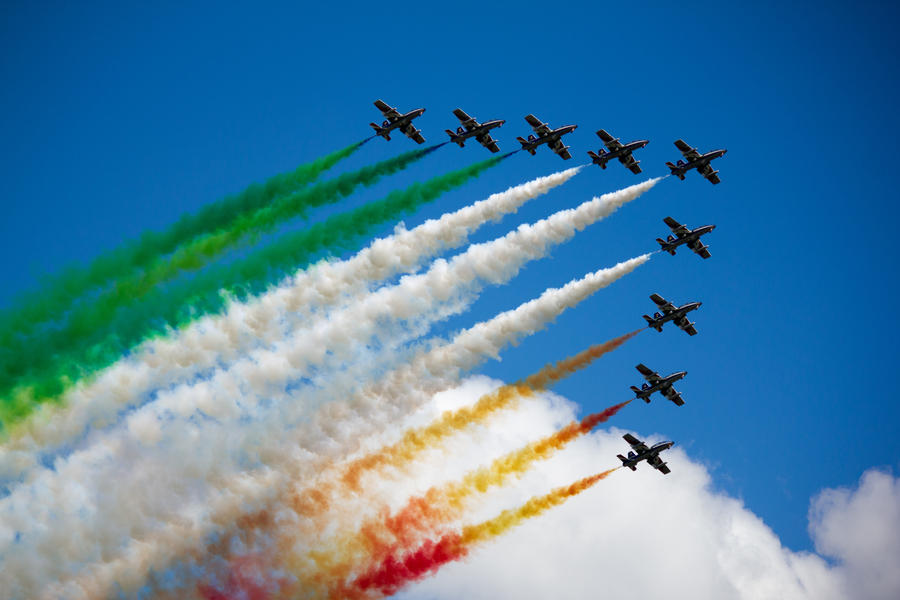 Waddington 2012: Frecce Tricolori by randomlurker