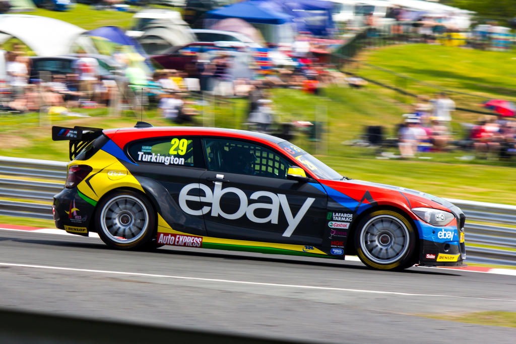 BTCC Oulton Park 2013: Ebay Motors BMW 1-Series by randomlurker on ...