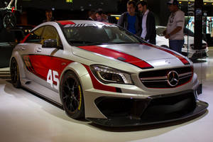 Frankfurt 2013: Mercedes CLA45 AMG Racing Series by randomlurker
