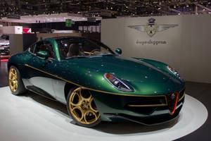 Geneva 2014: Touring Superleggera Disco Volante by randomlurker