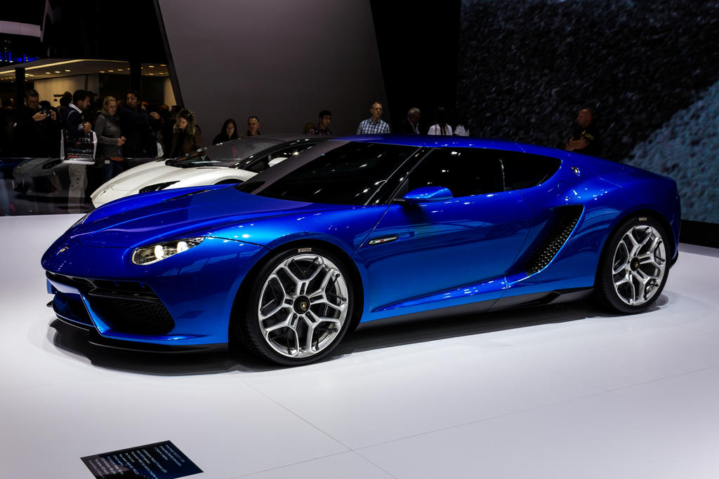 Paris 2014: Lamborghini Asterion by randomlurker