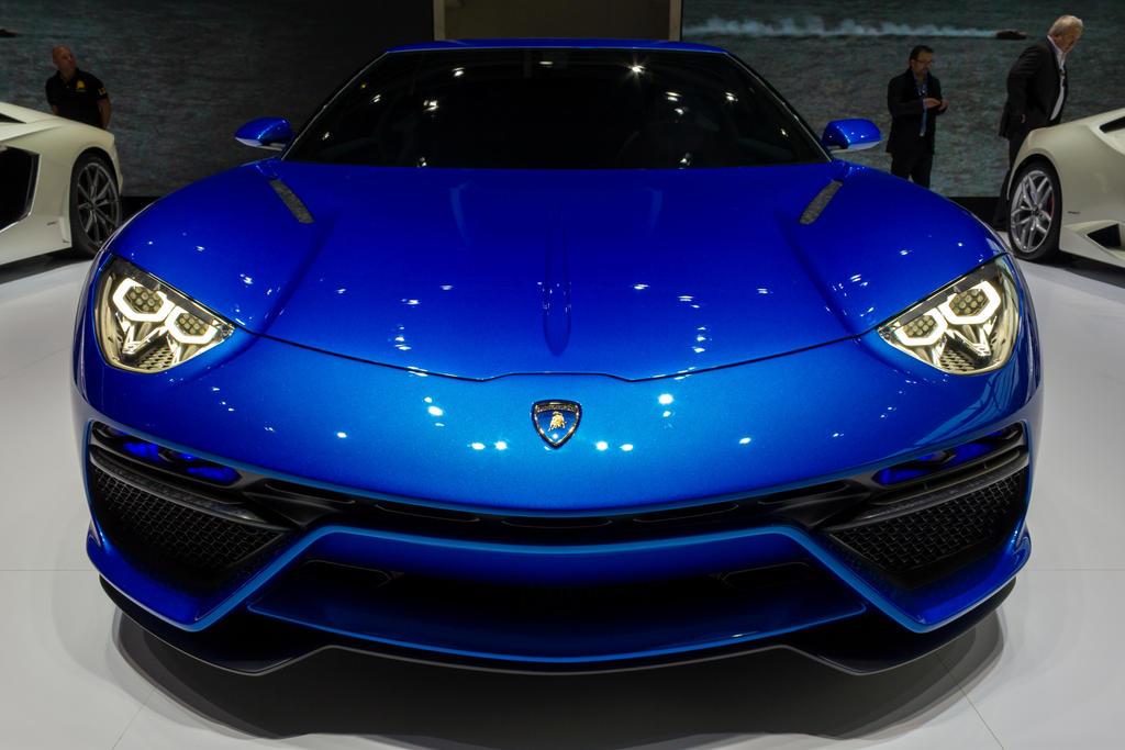 Paris 2014: Lamborghini Asterion Face by randomlurker