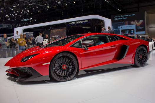 Geneva 2015: Lamborghini Aventador SV