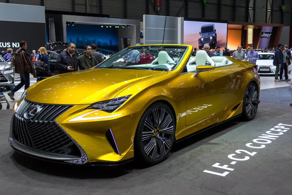 Geneva 2015: Lexus LF-C2 Concept by randomlurker