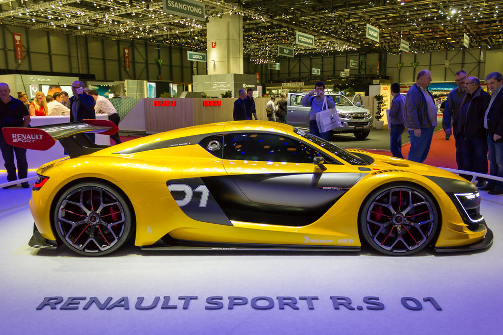 Geneva 2015: Renault Sport R.S. 01 by randomlurker