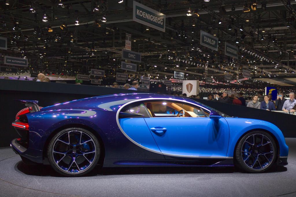 Geneva 2016: Bugatti Chiron by randomlurker