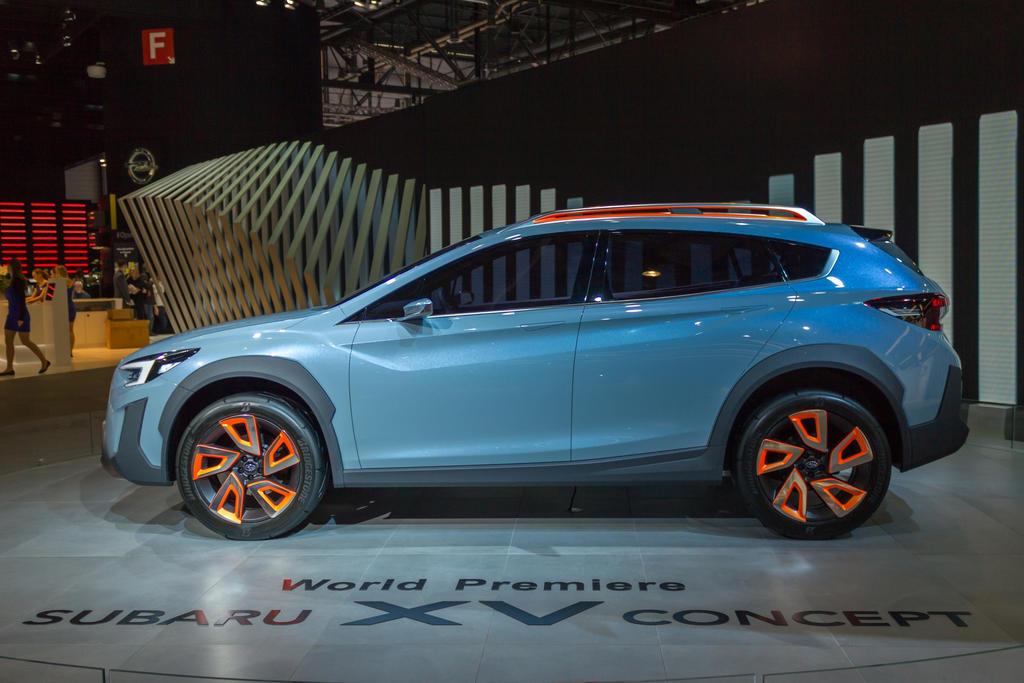 Geneva 2016: Subaru XV Concept by randomlurker