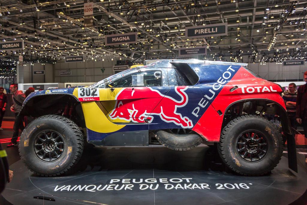 Geneva 2016: Peugeot 2008 DKR16 by randomlurker