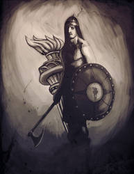 Guardian of freedom by eyesofthenorth