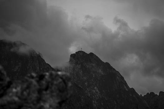 Cloudy Giewont