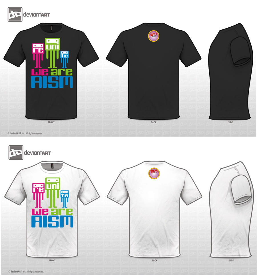 Design t shirt universiti -  T Shirt Design Aism University By Braammoriarty20